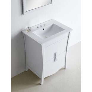 Hendry 24 Single Bathroom Vanity Set by Orren Ellis