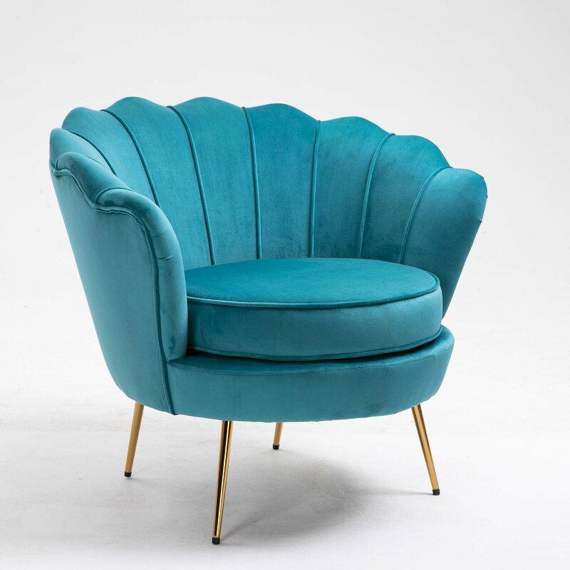 Mercer41 Cangelosi Barrel Chair Wayfair