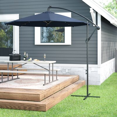 Kayleigh 10 Cantilever Umbrella by Freeport Park Spacial Price