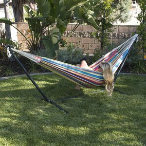 Nina Cotton Hammock with stand