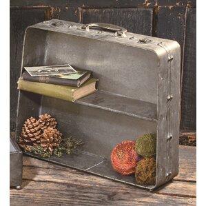 Decorative Tabletop Suitcase Shelf
