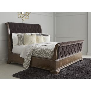 Gunnell Upholstered Sleigh Bed