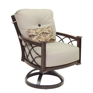 La Reserve High Back Swivel Rocking Chair with Cushion