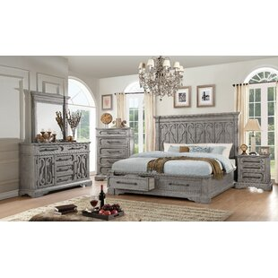 Freya Storage Platform Configurable Bedroom Set