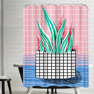 Wacka Designs Glam Single Shower Curtain