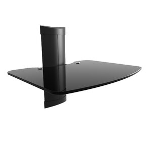 AVSM AV Component Wall Glass Shelf by Kanto