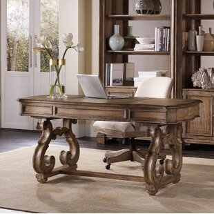 Solana Solid Wood Writing Desk