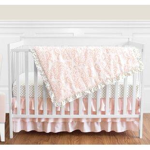 Inexpensive Amelia 4 Piece Crib Bedding Set BySweet Jojo Designs