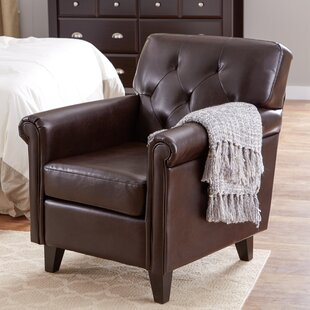 Best Reviews Bustamante Club Chair By Charlton Home
