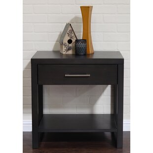 Midtown 1 Drawer Nightstand by Home Image