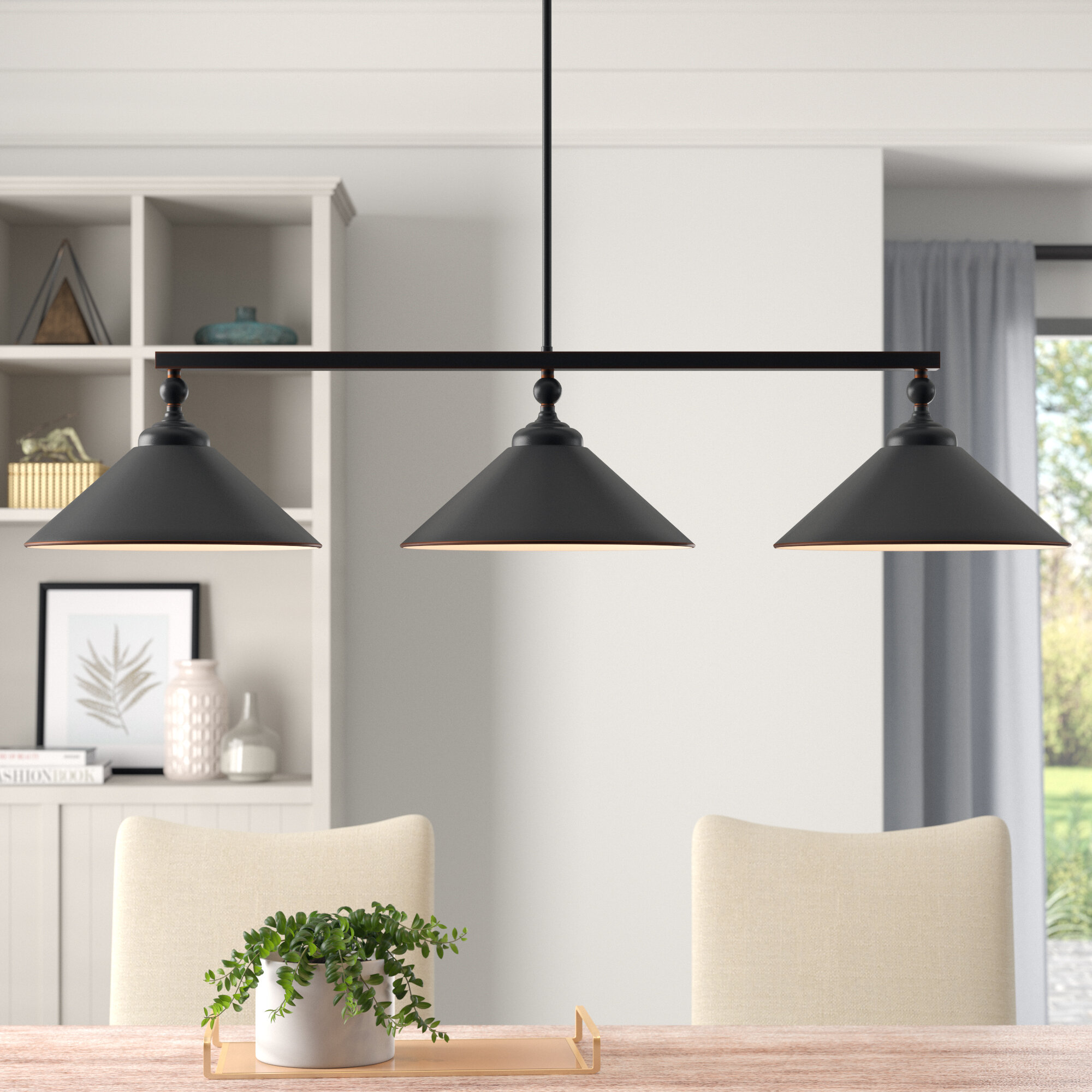 3 Light Kitchen Island Pendant Lighting You Ll Love In 2021 Wayfair