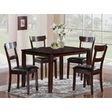 Wilmoth 5 Piece Dining Set by Charlton Home®