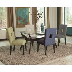 Mikah 5 Piece Dining Set by Latitude Run