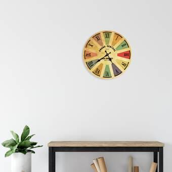 East Urban Home Begley Wall Clock