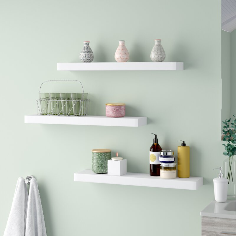 Maine Floating Wall Shelf & nexxt Design Maine Floating Wall Shelf \u0026 Reviews | Wayfair