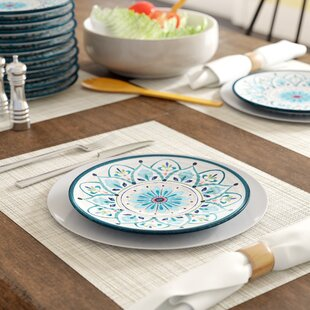 Baeza Melamine Salad Plate (Set of 6)