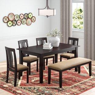 Oneill Modern 6 Piece Dining Set