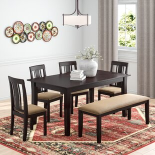 Oneill Modern 6 Piece Wood Dining Set & Seats 6 Kitchen u0026 Dining Room Sets Youu0027ll Love | Wayfair