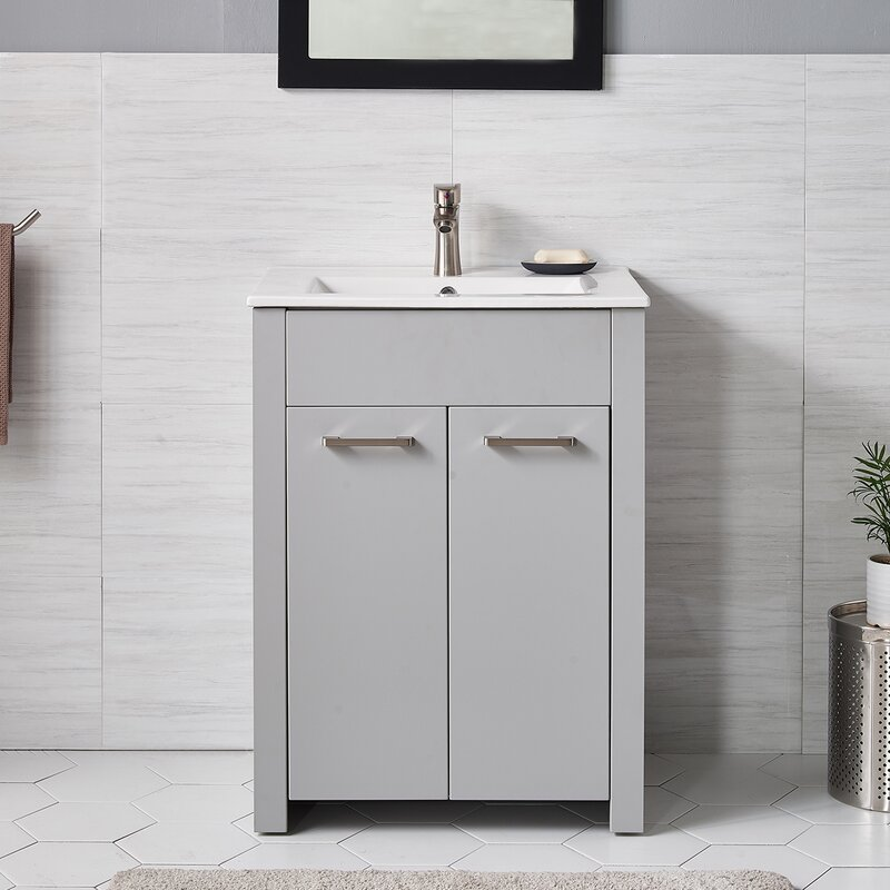 Latitude Run Cisse 24 Single Bathroom Vanity Set Wayfair