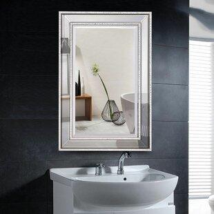 Read Reviews Bridgers Rectangular Wall-Mounted Bathroom Mirror ByHouse of Hampton