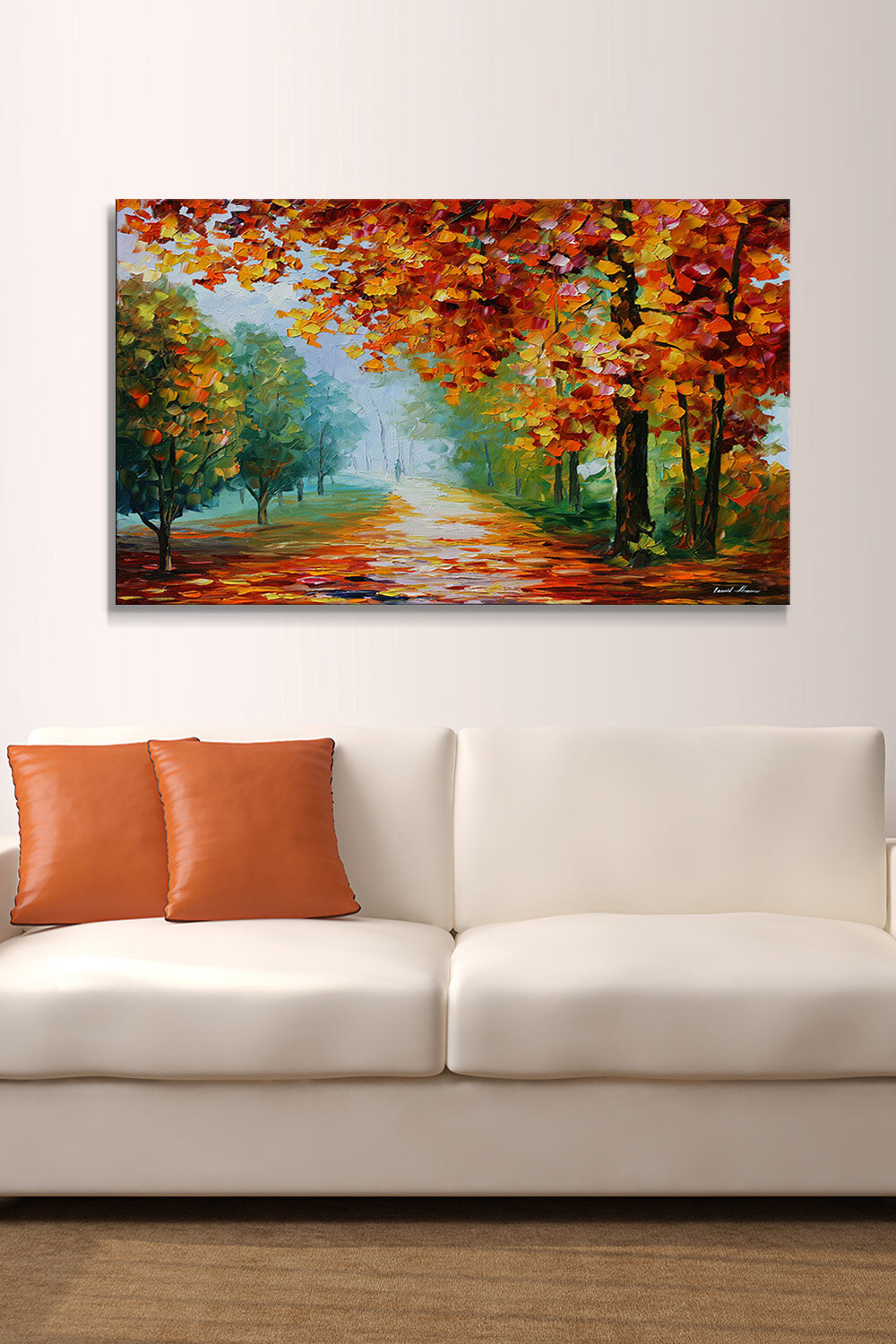 Pictureperfectinternational Evanescing Sight By Leonid Afremov Painting Print On Wrapped Canvas Wayfair