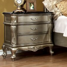 Cameron 3 Drawer Nightstand by House of Hampton