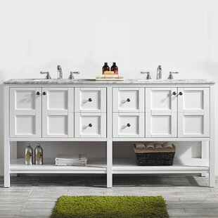 Caldwell 72 Double Vanity Set By Beachcrest Home