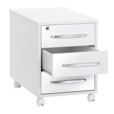 Rollcontainer Allon mit 3 Schubladen | Büro > Büroschränke > Rollcontainer | Metro Lane