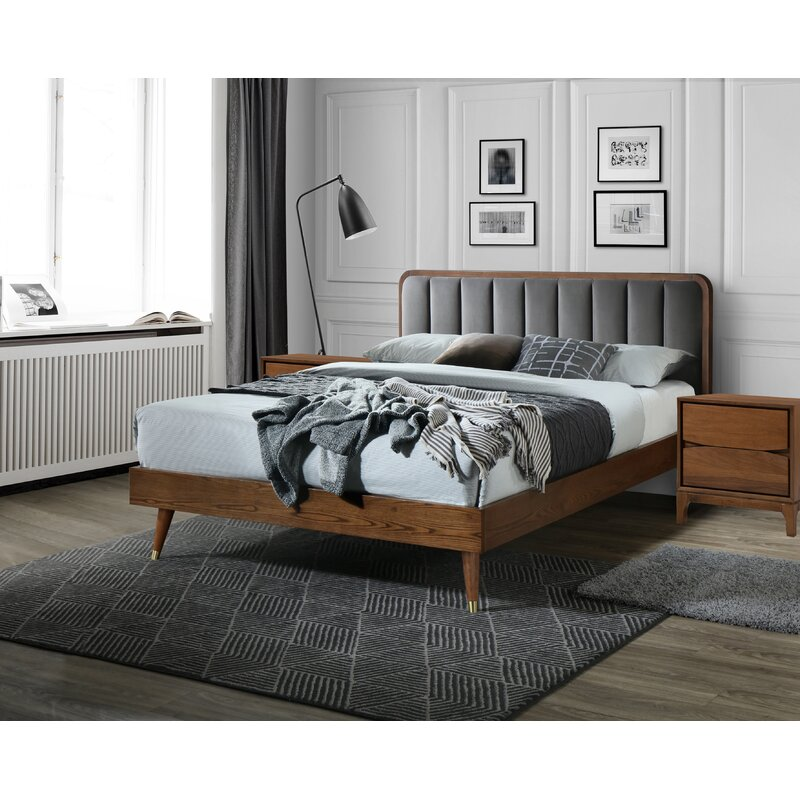 George Oliver Mahalia Platform Solid Wood 3 Piece Bedroom ...