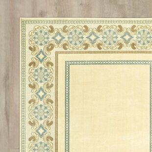 Taj Mahal Hand Woven Cream Area Rug
