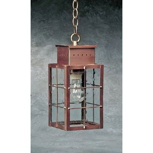 Best Wildes 1-Light Outdoor Hanging Lantern By Breakwater Bay