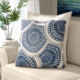 Andover Mills Mcpherson Square Cotton Pillow Cover Insert Reviews Wayfair