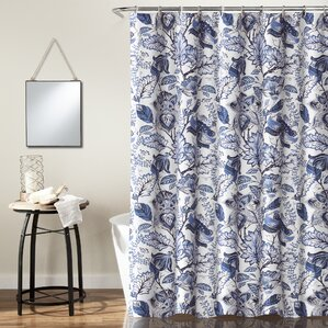 blue and gray shower curtain. Morristown Shower Curtain Curtains  Birch Lane