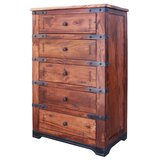 Rivenburg 5 Drawer Chest by Loon Peak®