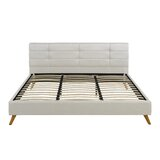 Nielsville Upholstered Platform Bed by Orren Ellis