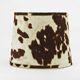 12 Faux Leather Drum Lamp Shade