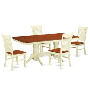 Pillsbury 5 Piece Extendable Dining Set by August Grove 2019 Sale