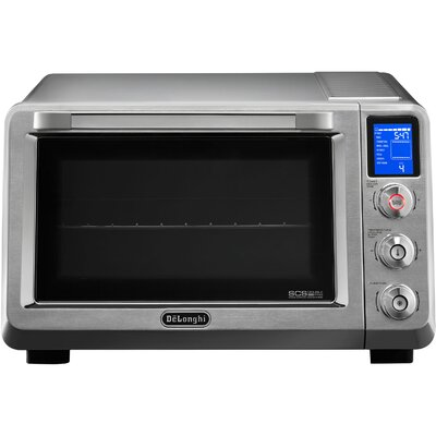 085 Cu Ft Livenza Convection Oven with Double Surround Cooking and 1 Rack DeLonghi