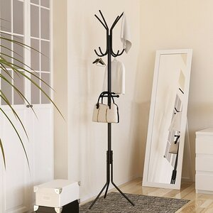 Metal Hat and Coat Rack