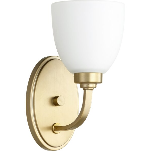 Andover Mills Edie 1 Light Dimmable Armed Sconce Reviews