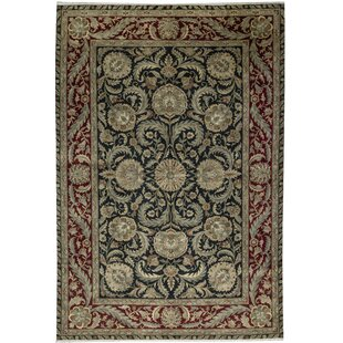 One-of-a-Kind Crown Select Handwoven 12'2 x 17'11 Wool Red/Black Area Rug By Bokara Rug Co., Inc.