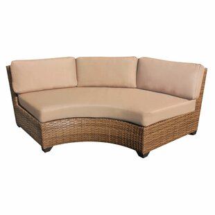 Online Purchase Waterbury Curved Sofa with Cushions Great deals