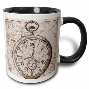 Vintage Stop Watch Steampunk Art Coffee Mug