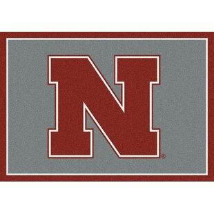 Collegiate University of Nebraska Huskers Doormat By My Team by Milliken