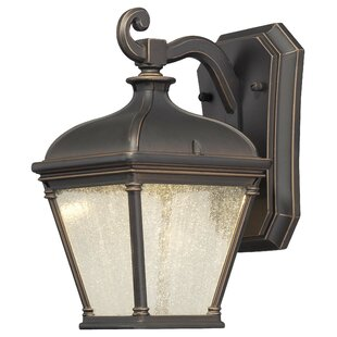 Read Reviews Lauriston Manor 1-Light Outdoor Wall Lantern By Great Outdoors by Minka