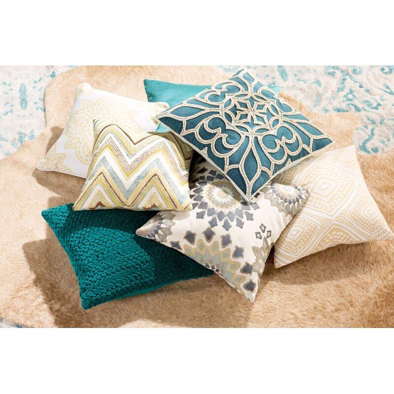 Beechwood Outdoor Throw Pillow Reviews Birch Lane
