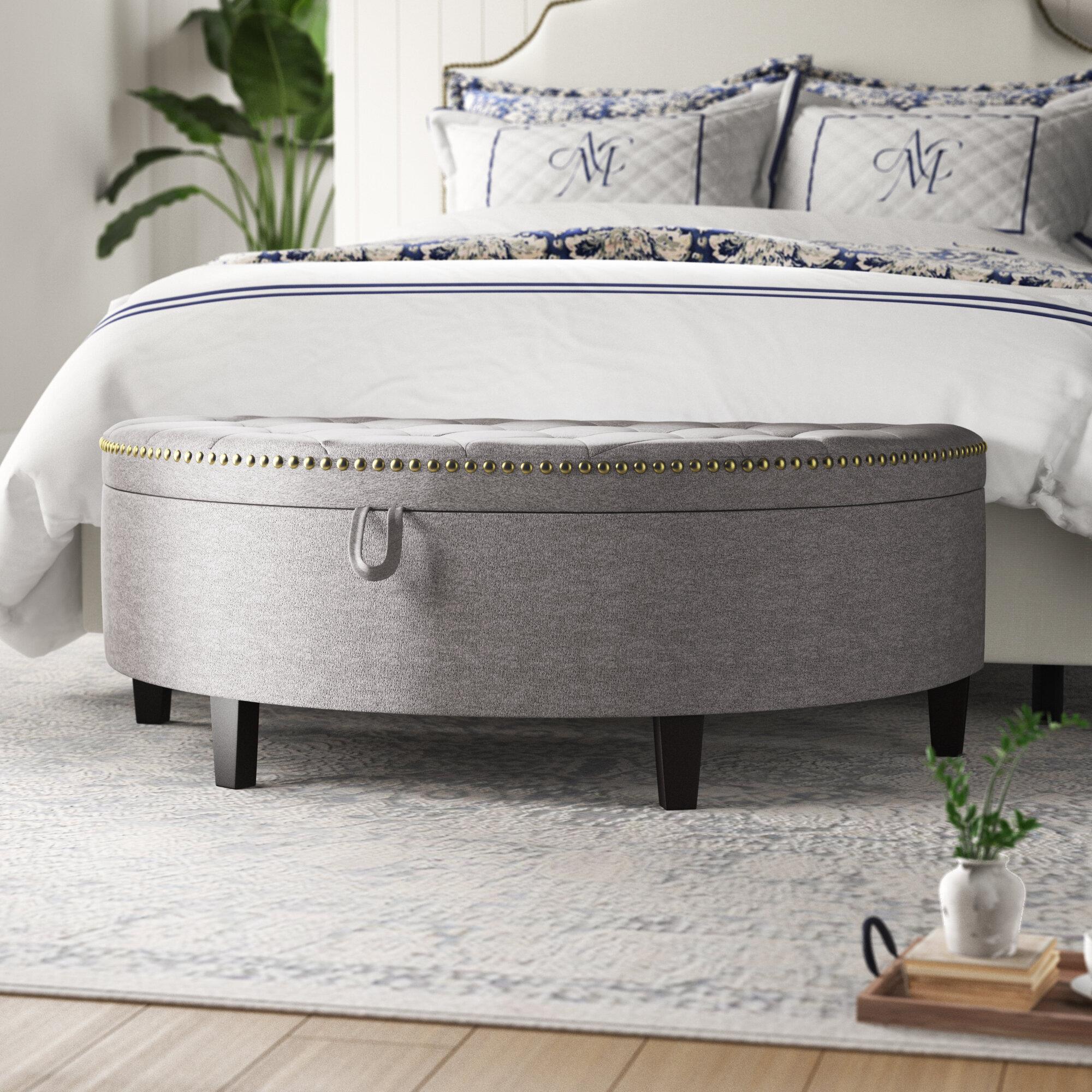 Maribel Upholstered Storage Bench