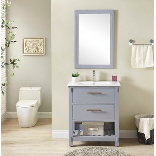 Gravely 30 inch  Single Bathroom Vanity Set