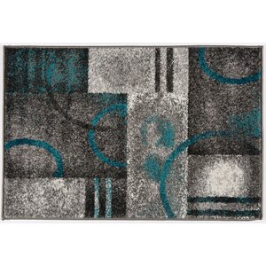 Caio Soft Gray Area Rug