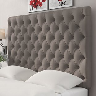 Tufted Upholstered Panel Headboard by Wayfair Custom Upholstery™